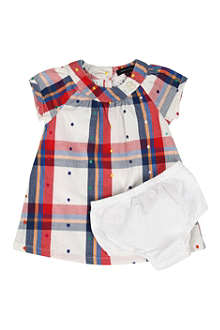 TOMMY HILFIGER Checked dress 6 months-3 years
