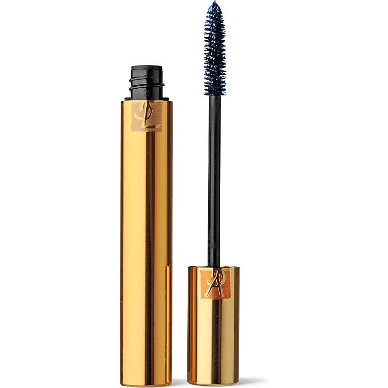 SAINT LAURENT   Yves Saint Laurent Luxurious Mascara, No. 3 Blue   Goxip