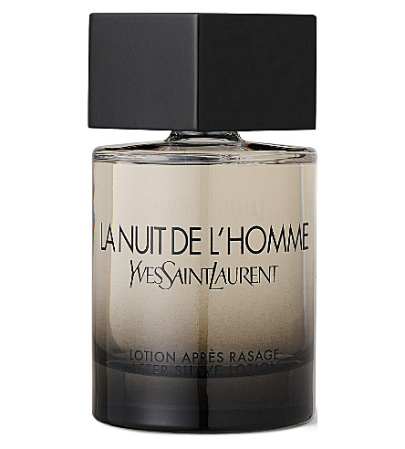 YVES SAINT LAURENT La Nuit de L'Homme aftershave 100ml