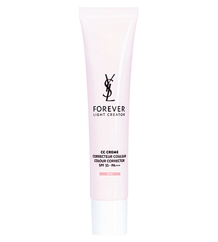 YVES SAINT LAURENT CC Creme colour corrector SPF 35 40ml - rose