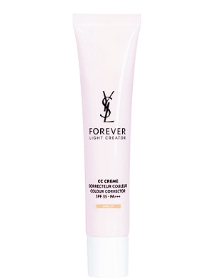 YVES SAINT LAURENT CC Creme colour corrector SPF 35 40ml - apricot