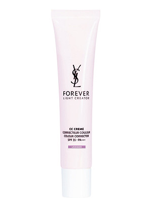 YVES SAINT LAURENT CC Creme colour corrector SPF 35 40ml - violet