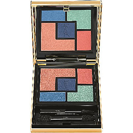 YVES SAINT LAURENT Bleus Lumière Summer Look 2014 eyeshadow palette