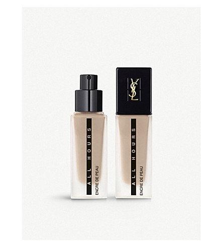 YVES SAINT LAURENT All Hours foundation 25ml (Br30