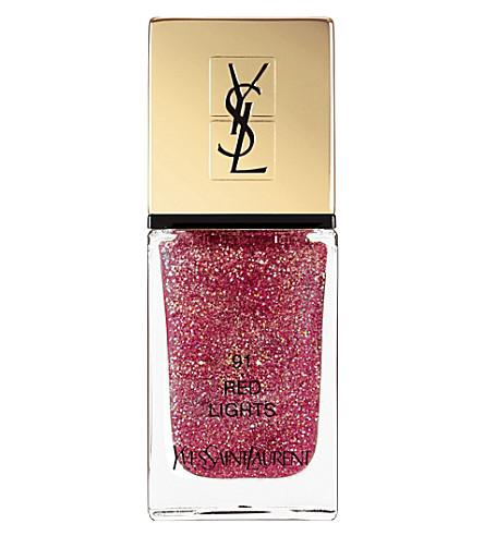 YVES SAINT LAURENT La Laque Couture Dazzling Lights Edition (91