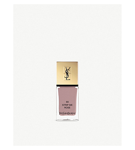 YVES SAINT LAURENT La Laque Couture lasting nail polish (93