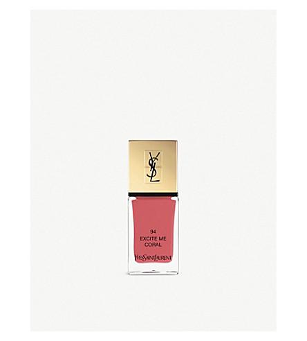 YVES SAINT LAURENT La Laque Couture lasting nail polish (94