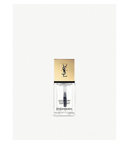 YVES SAINT LAURENT La Laque Couture Quick Dry Top Coat (99