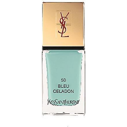 YVES SAINT LAURENT Bleus Lumière Summer Look 2014 La Laque Couture lasting nail polish (50
