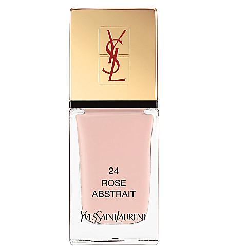 YVES SAINT LAURENT La Laque Couture lasting nail polish (24 rose abstrait