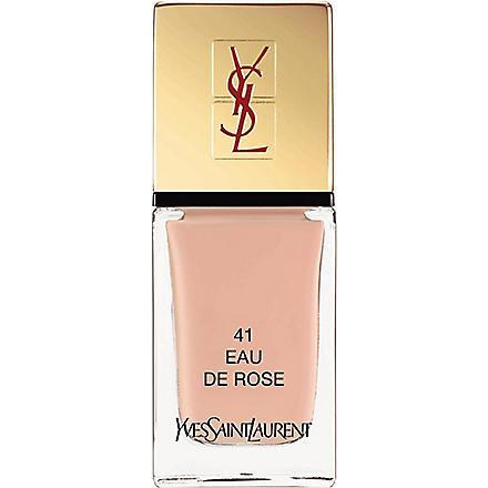 YVES SAINT LAURENT La Laque Couture lasting nail polish (41+eau+de+rose