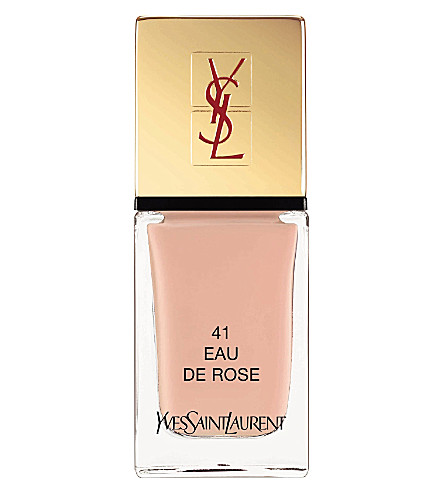 YVES SAINT LAURENT La Laque Couture lasting nail polish (41+eau+de+rose