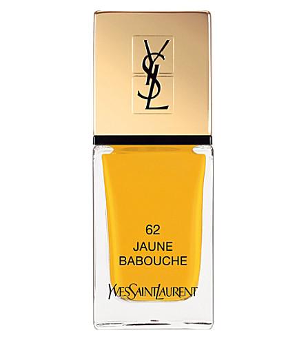 YVES SAINT LAURENT La Laque Couture lasting nail polish (62
