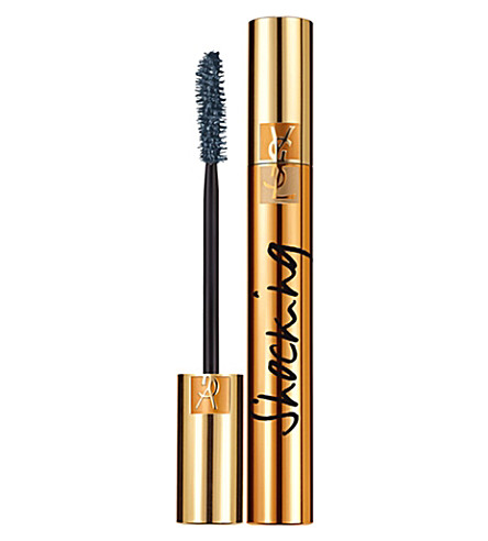 YVES SAINT LAURENT Luxurious Mascara Shocking Volume (Black+blue