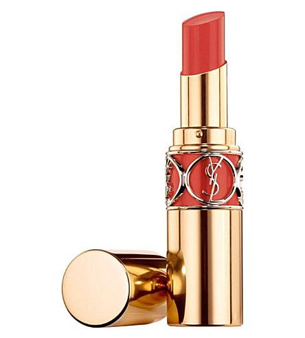 YVES SAINT LAURENT Rouge Volupté Shine lipstick (Orange+impertinent