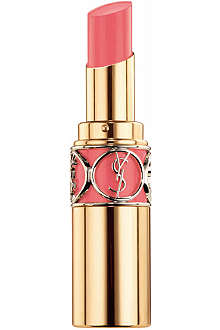 YVES SAINT LAURENT Spring Look 2014 Rouge Volupté Shine lipstick