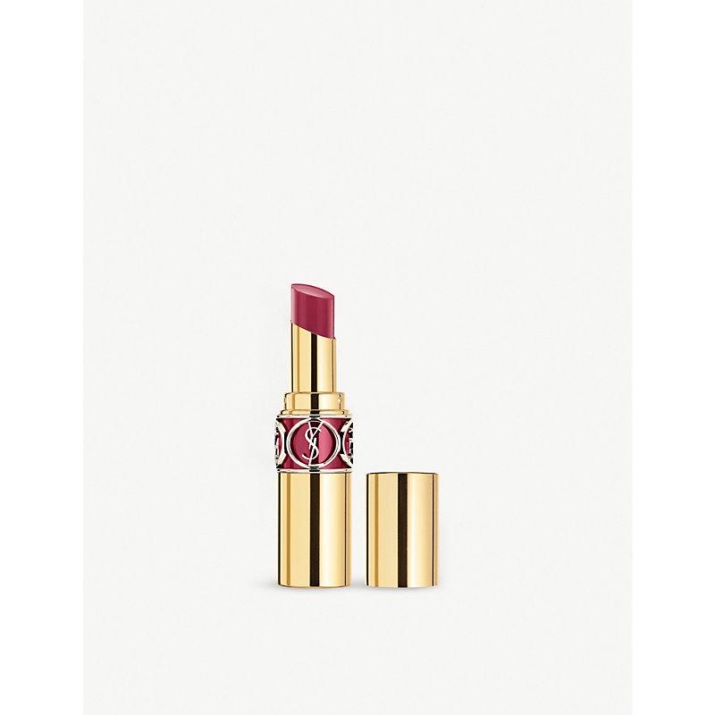 SAINT LAURENT   Rouge Volupté Shine Lipstick   Goxip