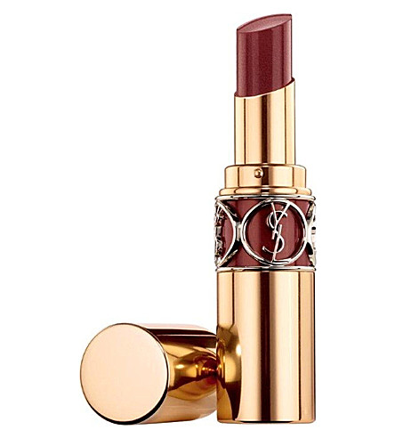 YVES SAINT LAURENT Rouge Volupté Shine lipstick (Brun insecure