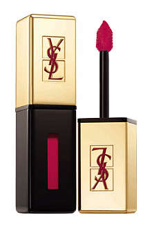 YVES SAINT LAURENT Spring Look 2014 Rouge Pur Couture Glossy Stain lip stain