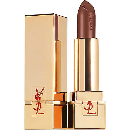 YVES SAINT LAURENT Rouge Pur Couture Golden Lustre lipstick (Brun sultan 115