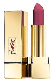YVES SAINT LAURENT Cuirs Fétiches Collection Rouge Pur Couture The Mats lipstick