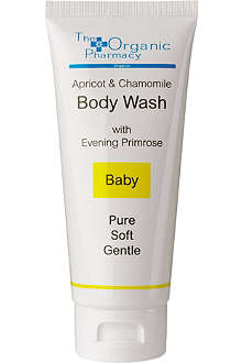 THE ORGANIC PHARMACY Apricot & Chamomile body wash 100ml