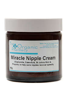THE ORGANIC PHARMACY Miracle nipple cream 60g