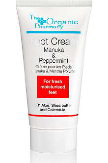 THE ORGANIC PHARMACY Manuka & Peppermint Foot Cream 50ml