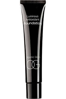 ORGANIC GLAM Luminous antioxidant foundation