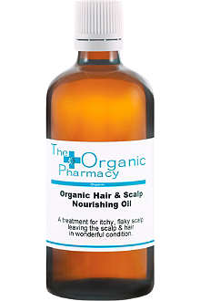 THE ORGANIC PHARMACY Hair & Scalp Nourishing Oil 100ml