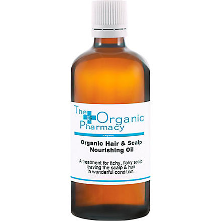 THE ORGANIC PHARMACY Hair & Scalp Nourishing Oil 100ml