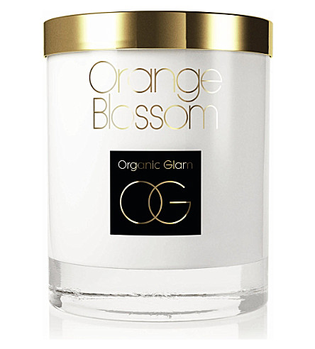 THE ORGANIC PHARMACY Orange Blossom candle