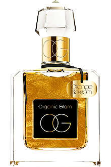 THE ORGANIC PHARMACY Limited Edition Orange Blossom Gold Shimmer fragrance 100ml