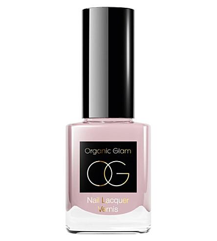 ORGANIC GLAM French Manicure pink nail polish
