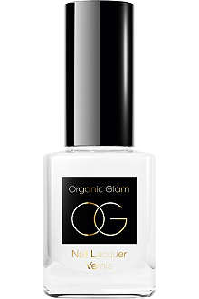 ORGANIC GLAM French Manicure white nail polish