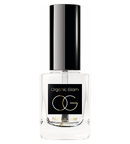 ORGANIC GLAM Top coat nail polish