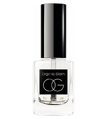 ORGANIC GLAM Top coat nail polish