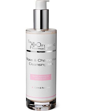 THE ORGANIC PHARMACY Rose and Chamomile Cleansing Milk