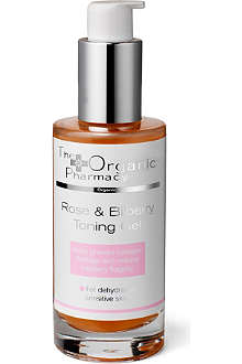 THE ORGANIC PHARMACY Rose and Bilberry Toning Gel 50ml