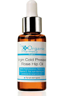 THE ORGANIC PHARMACY Virgin Cold Pressed Rose Hip Seed Serum 30ml