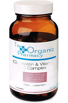 THE ORGANIC PHARMACY Quercetin & Vitamin C Complex Capsules