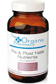 THE ORGANIC PHARMACY Pre & Post Natal Nutrients
