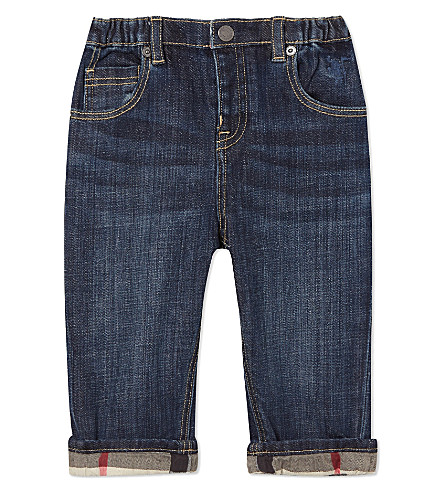 BURBERRY Pierre jeans 6 months-3 years (Blue