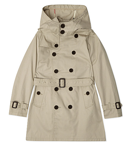 BURBERRY Mini Britton trench coat 4-14 years (Trench
