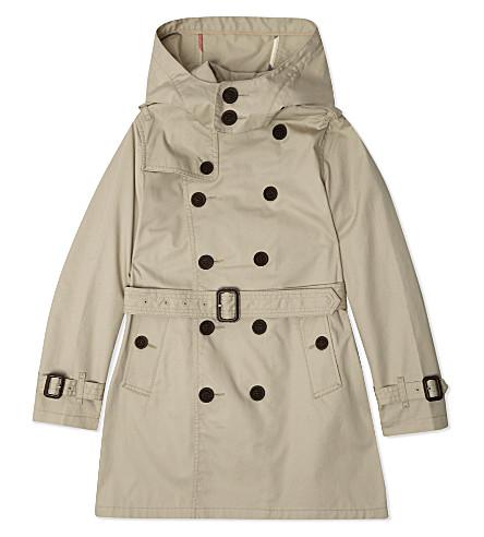 BURBERRY Mini Britton trench coat 4-14 years (Trench