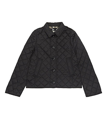 BURBERRY Ashurst quilted jacket 4-14 years (Black