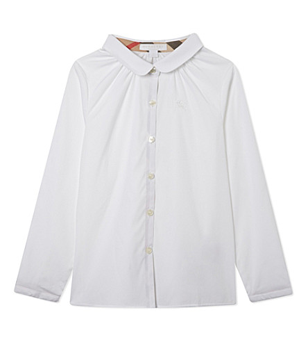 BURBERRY Tallori classic shirt 4-14 years (White