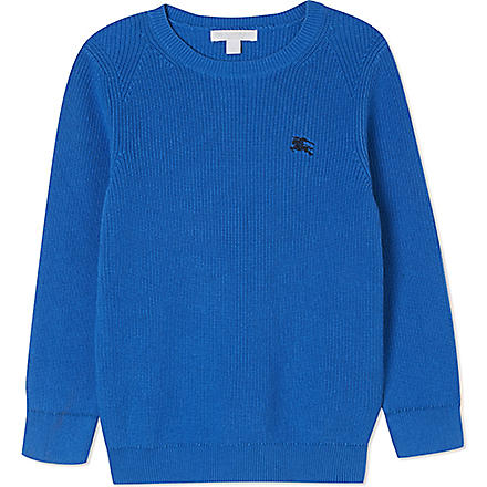 Burberry: Mini robinson knitted jumper 4-14 years - Hiphunters Shop