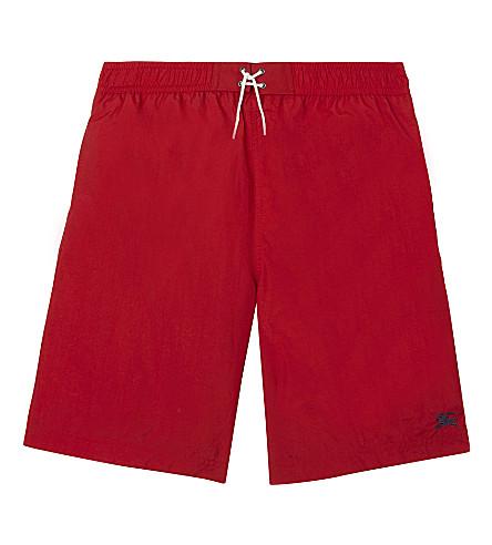 BURBERRY Swim shorts 4-14 years (Military+red