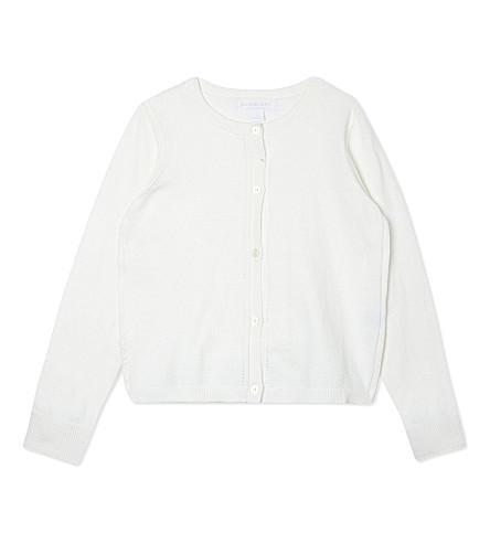 BURBERRY Rheta cotton cardigan 4-14 years (White